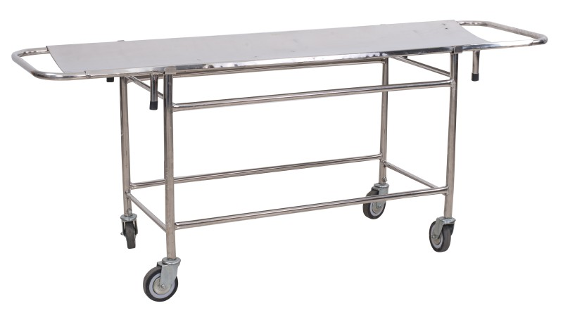 S.S Stretcher on Trolley