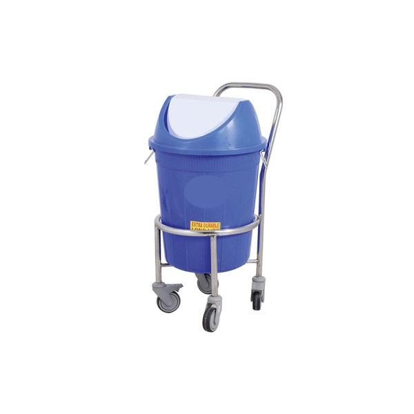 Waste Carrying Trolley - S.S