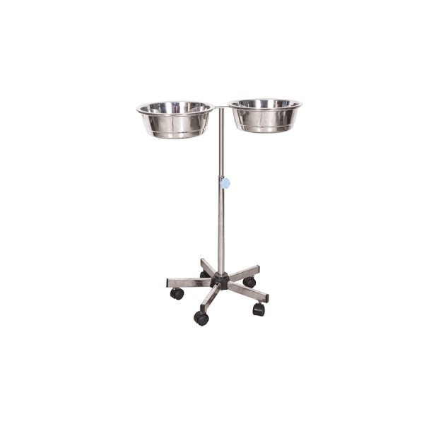 Bowl Stand Double - S.S