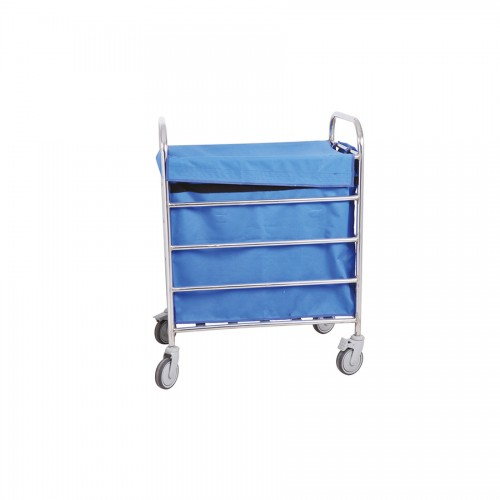 Soiled Linen Trolley Big - S.S