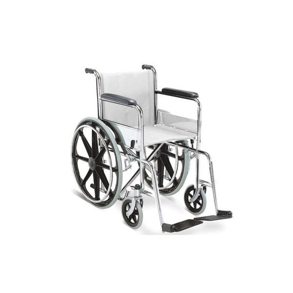 Non - Folding Wheel Chair - S.S