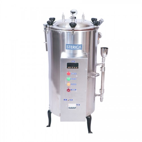 Vertical - Triple Walled High Pressure Steam Sterilizer