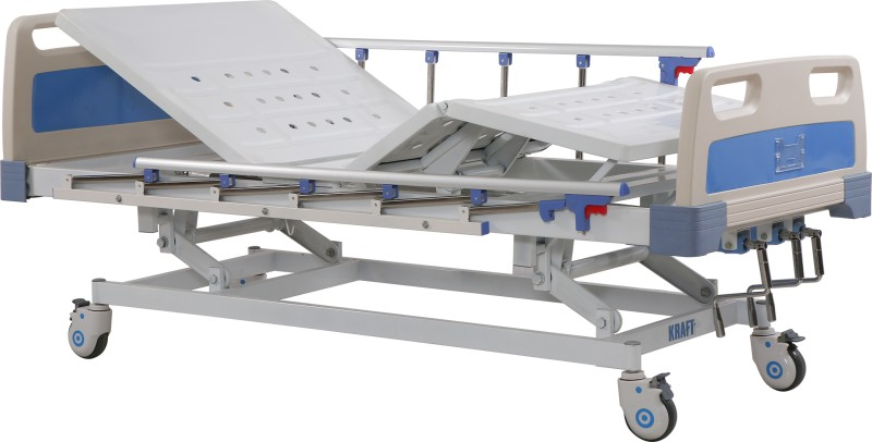 Manual ICU Bed 3 Function (Deluxe)