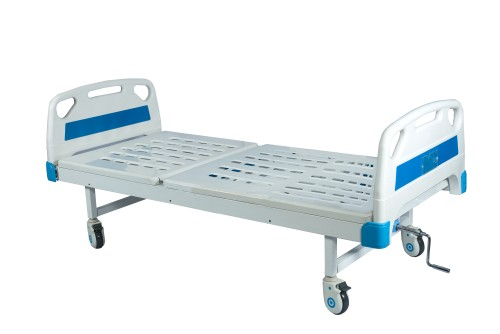 Manual Semi Fowler Backrest Bed 1 Function (Deluxe)
